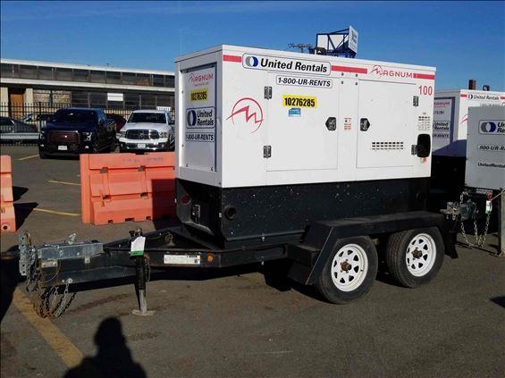 2014 Magnum Pro MMG100 Diesel Generator