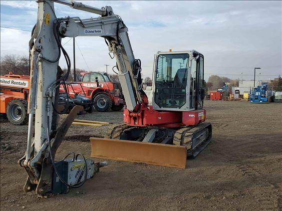 2014 Takeuchi TB280FR Excavator