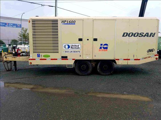2012 Doosan HP1600WCU Air Compressor