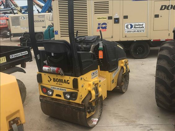 2016 BOMAG BW 90 AD-5 Ride-On Roller