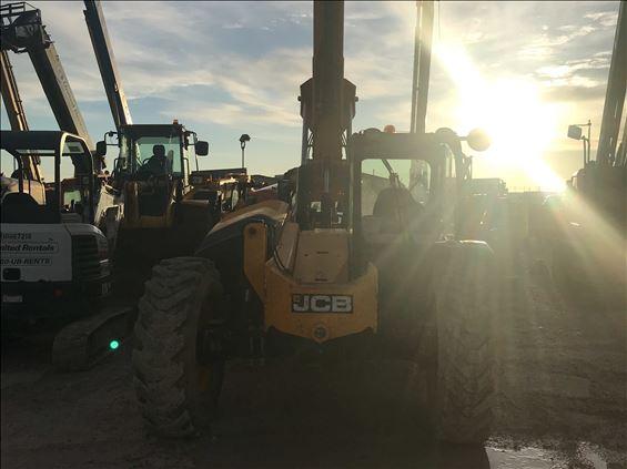 2016 JCB 509-42 S Rough Terrain Forklift