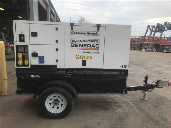 2016 Magnum Pro MMG45-SA Diesel Generator