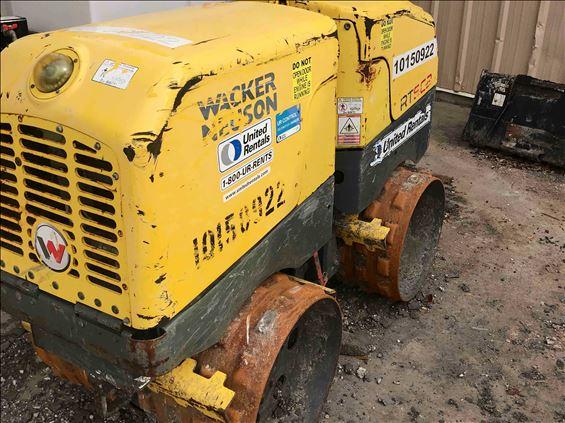 2013 Wacker Neuson RT 82-SC Walk-Behind Roller
