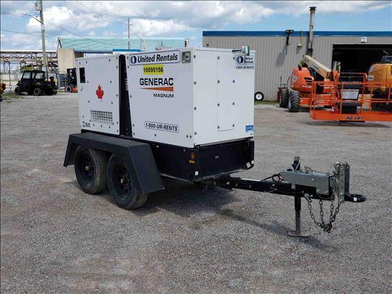2017 Magnum Pro MMG55T3 Diesel Generator