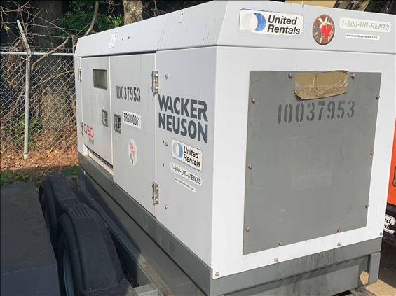 2012 Wacker Neuson G 50 Diesel Generator
