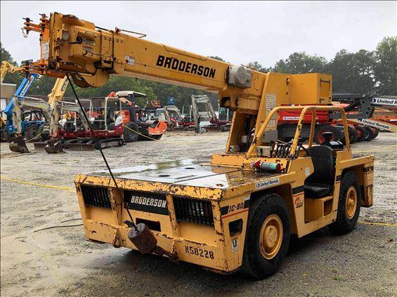 2008 Broderson IC-80-2G Crane