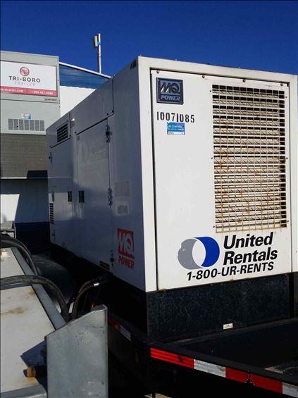 2012 Multiquip DCA125USIC Diesel Generator
