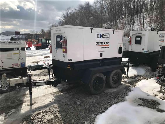 2018 Magnum Pro MMG55DF4 Diesel Generator