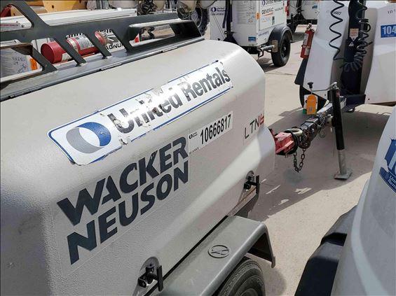 2017 Wacker Neuson LTN6K Towable Light Tower