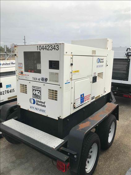 2015 Multiquip DCA40SSKU4F Diesel Generator