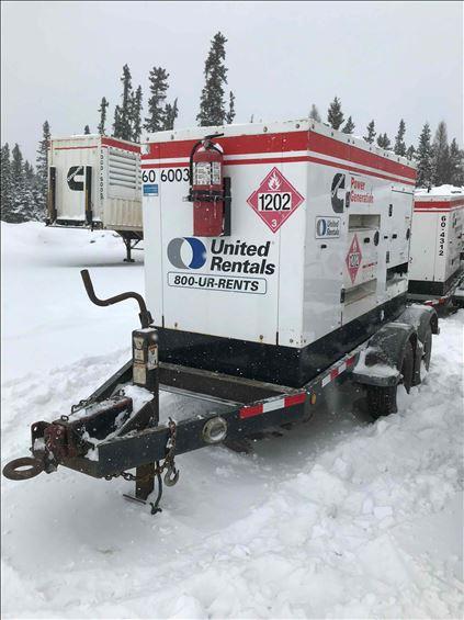 2013 Cummins C60D6R Diesel Generator