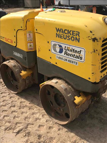 2017 Wacker Neuson RTKX-SC3 Walk-Behind Roller