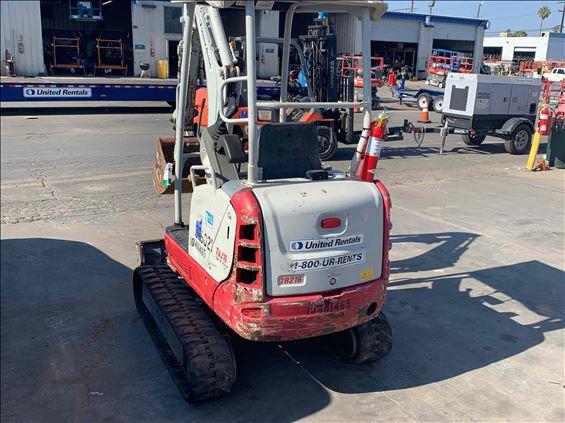2016 Takeuchi TB216 Mini-Excavator
