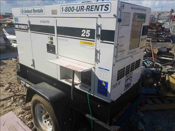 2018 Multiquip DCA25SSIU4F Diesel Generator