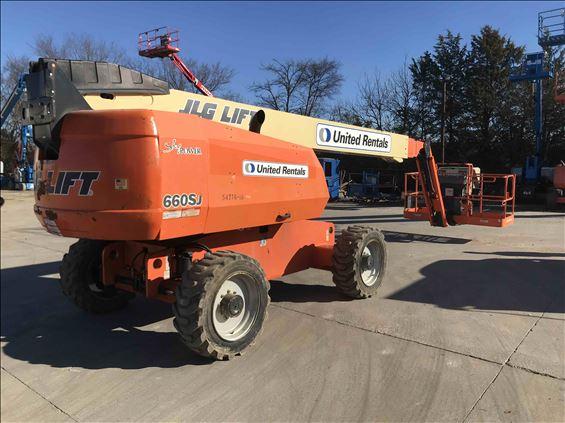 2012 JLG 660SJ-D-WR Boom Lift