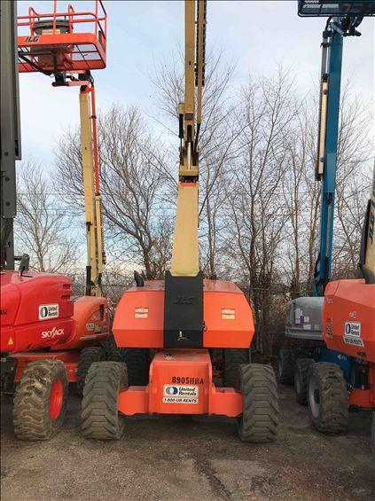 2011 JLG 800AJ Boom Lift