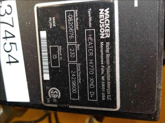 2015 Wacker Neuson HI770XHD