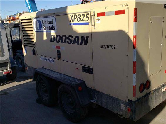 2014 Doosan XP825WCU Air Compressor