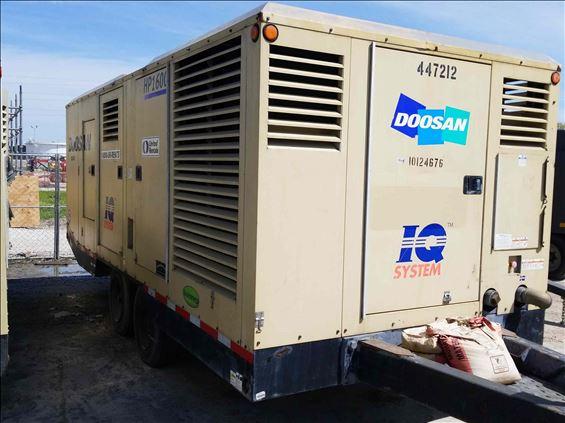 2013 Doosan HP1600WCUT4I Air Compressor