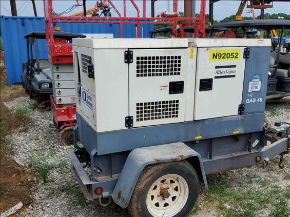 2015 Atlas Copco QAS45 (T4F) Diesel Generator