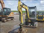 2015 Wacker Neuson EZ38 Mini-Excavator
