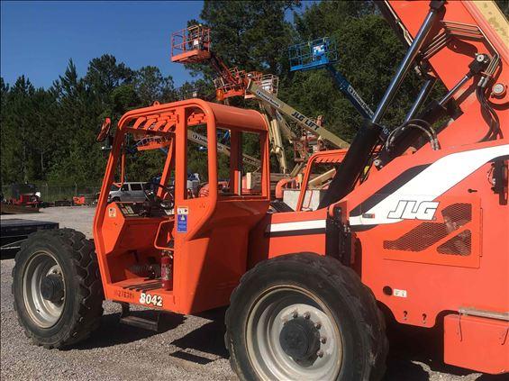 2014 Sky Trak 8042 Rough Terrain Forklift