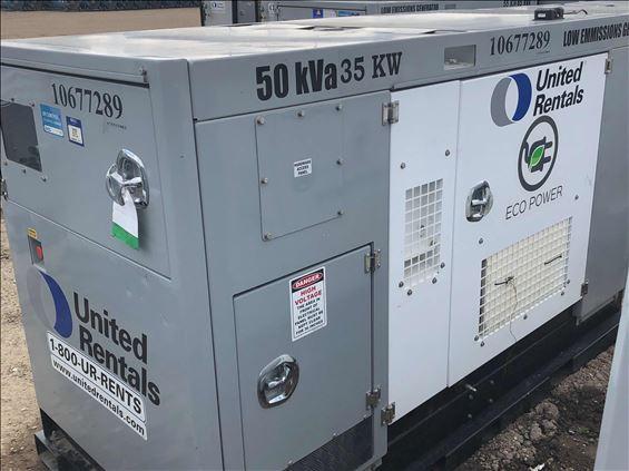 2017 CAVALIER 50KVA Diesel Generator