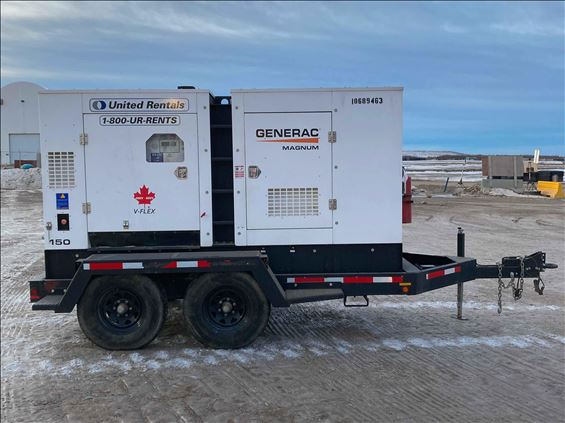 2017 Magnum Pro MMG150T3 Diesel Generator