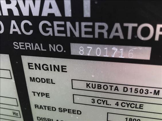 2018 Multiquip DCA15SPXU4F Diesel Generator