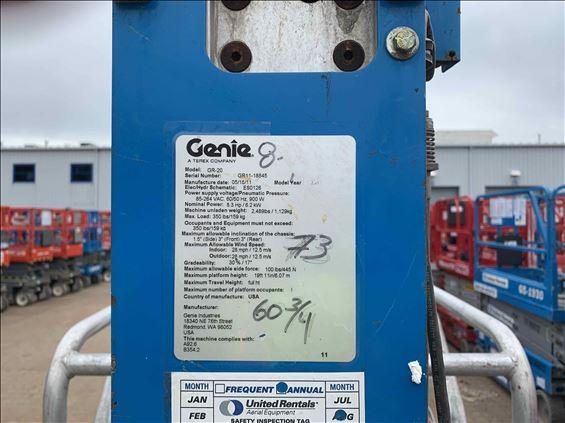 2011 Genie GR-20 Scissor Lift