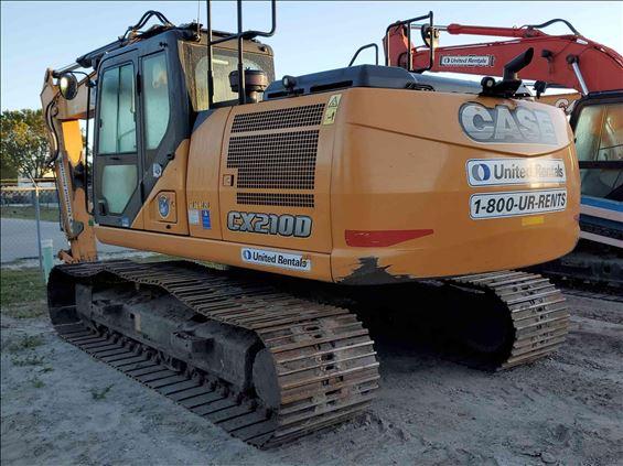 2018 Case CX210D Excavator
