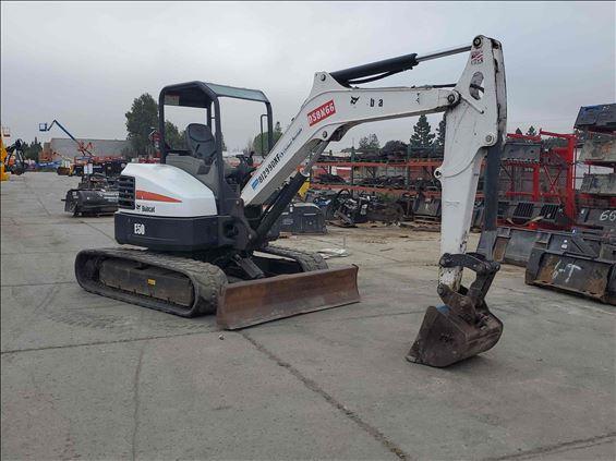 2016 Bobcat E50 Mini-Excavator