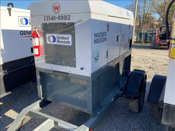 2016 Wacker Neuson G 25ERT Diesel Generator