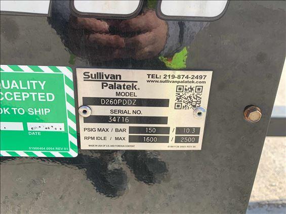 2017 Sullivan-Palatek D260PDDZ Air Compressor