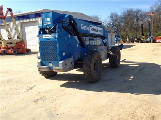 2013 Genie GTH-1056 Rough Terrain Forklift