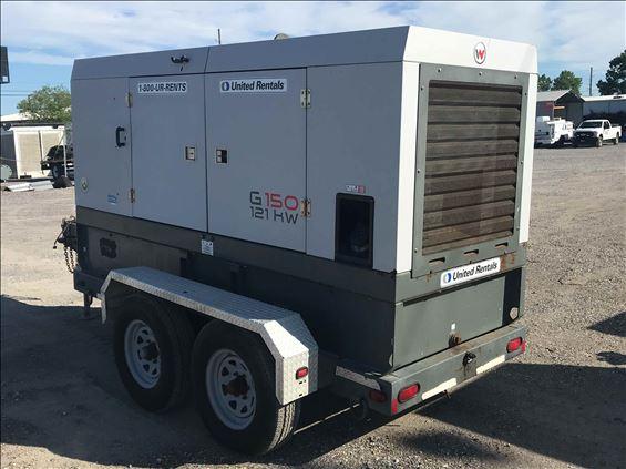 2013 Wacker Neuson G 150 Diesel Generator