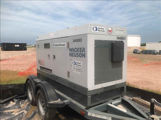 2015 Wacker G50 T4F Diesel Generator