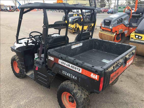 2014 Bobcat 3400D Utility Vehicle