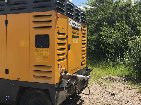 2012 Atlas Copco XATS1600JD7 PFF Air Compressor