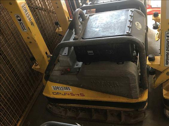 2018 Wacker Neuson DPU4545He Plate Compactor