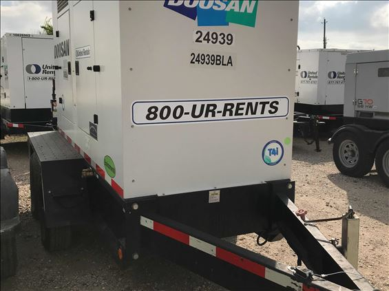 2013 Doosan G70 Diesel Generator