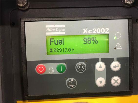 2013 Atlas Copco XATS400JD150PSI Air Compressor