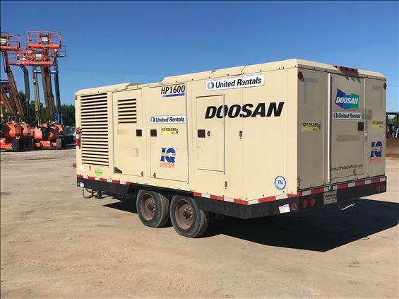 2013 Doosan HP1600WLU-T4I Air Compressor