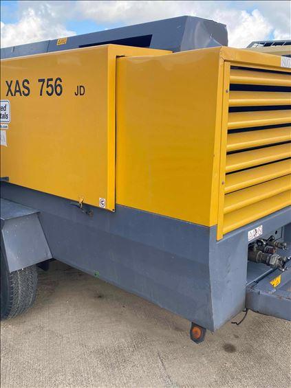 2010 Atlas Copco XAS750CD6 Air Compressor