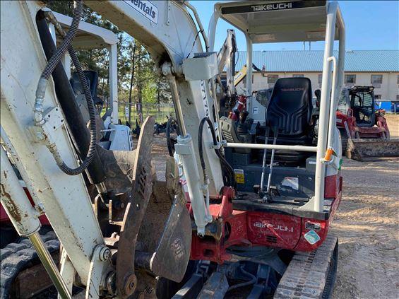 2018 Takeuchi TB230 Mini-Excavator