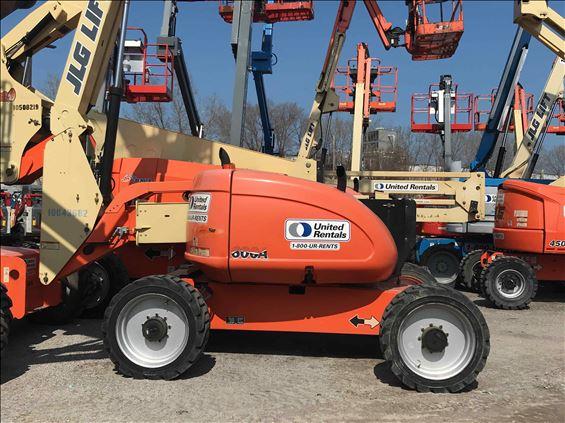 2012 JLG 600A Boom Lift