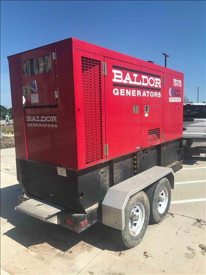 2013 BALDOR TS175-3J Diesel Generator