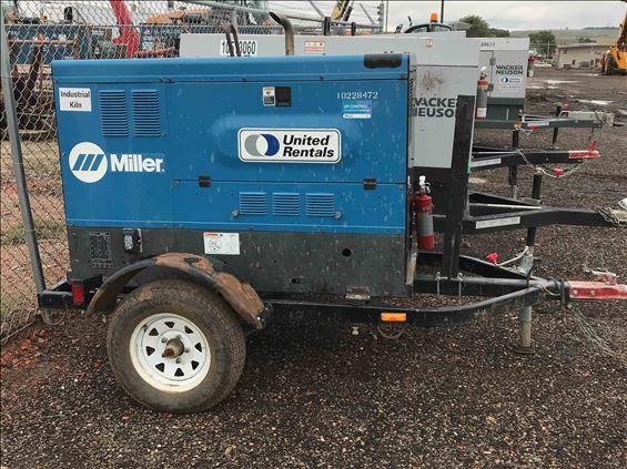 2014 Miller Welders BIG BLUE 500D Welder