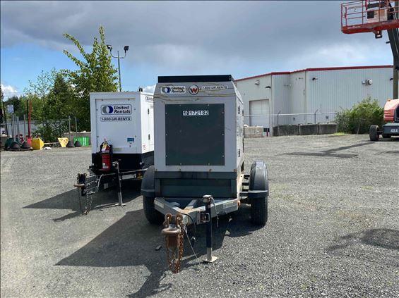2017 Magnum Pro MMG75T3 Diesel Generator