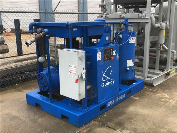 2011 Quincy Compressor QSF-100 Air Compressor